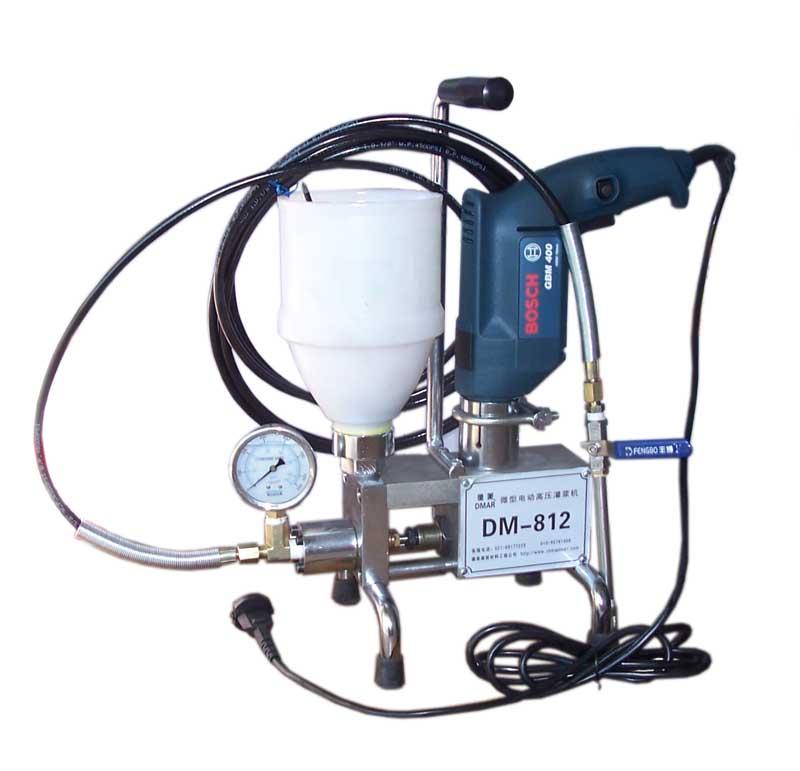 点击查看微型电动高压注浆机DM-812详细说明