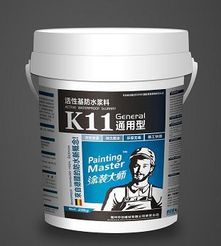 点击查看涂装大师防水涂料K11(通用型)详细说明