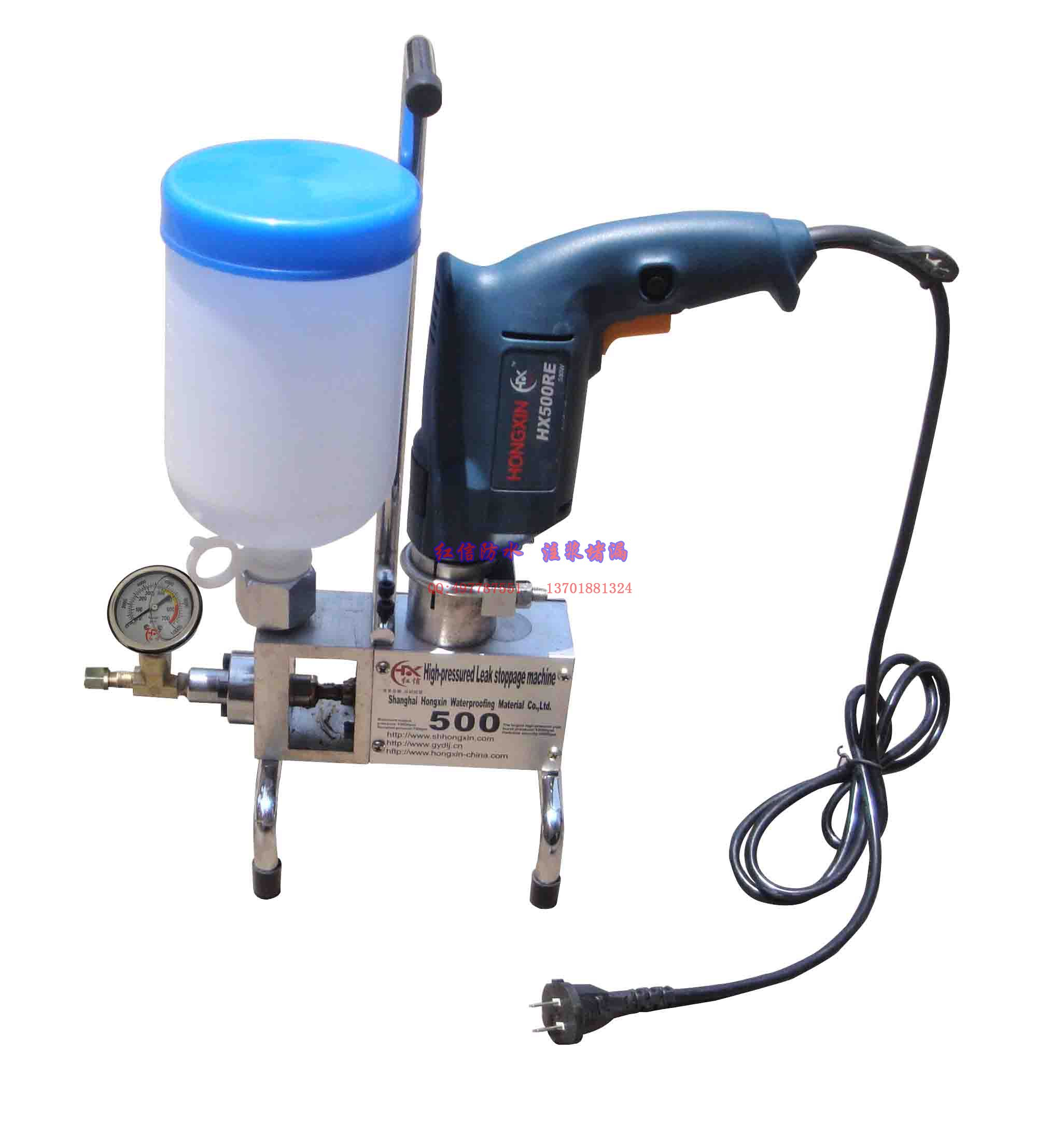 点击查看电动高压注浆机◆防水堵漏◆灌浆堵漏专用◆详细说明
