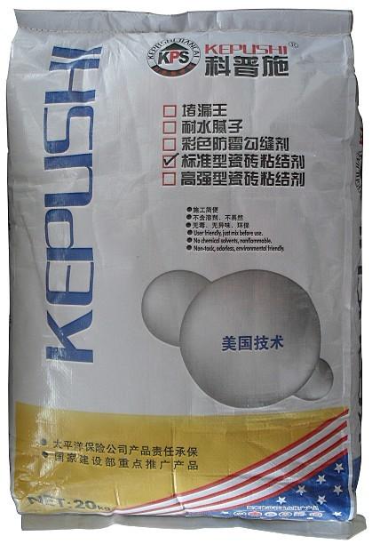 标准型瓷砖粘结剂-科普施