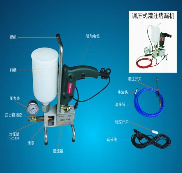 防水材料-丽天调压式灌注堵漏机 产品图片
