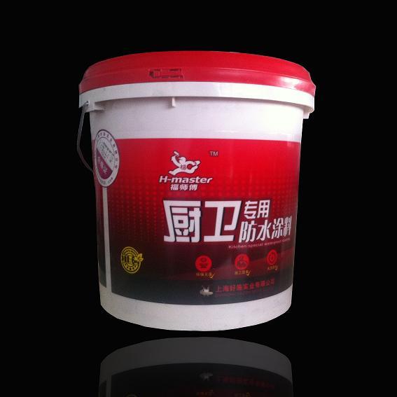 福师傅厨卫防水浆料小桶装 6KG净味环保