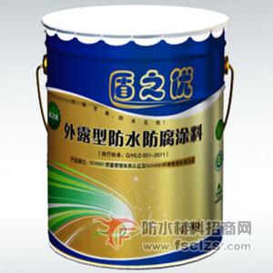 外露型彩色橡塑防水防腐涂料