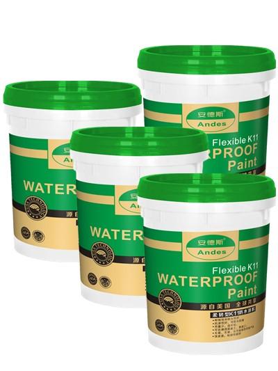 K-11彩色柔性防水涂料(绿色)