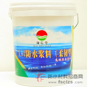 【 家装防水系统 】 K11防水浆料(柔韧型)