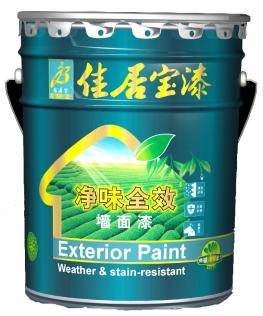 中国大陆-香港双注册知名品牌佳居宝净味全效墙面漆 20KG