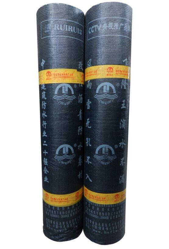 胶粉改性沥青聚酯毡与玻纤网格布增强卷材