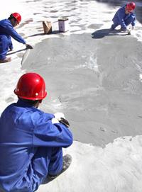 自闭型屋面防水涂料