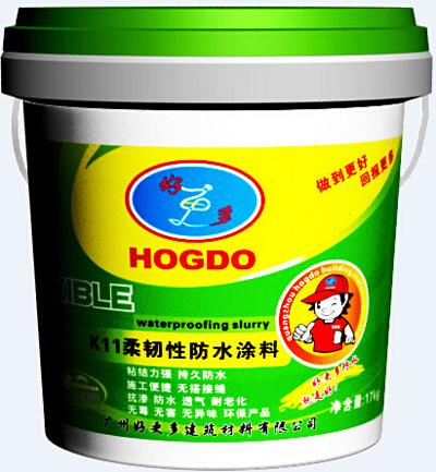 K11柔韧型防水涂料产品包装图片