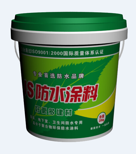 JS防水涂料单组份产品包装图片