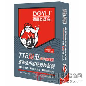 瓷砖胶粘粉TTBIII型(快干超强型)详细说明