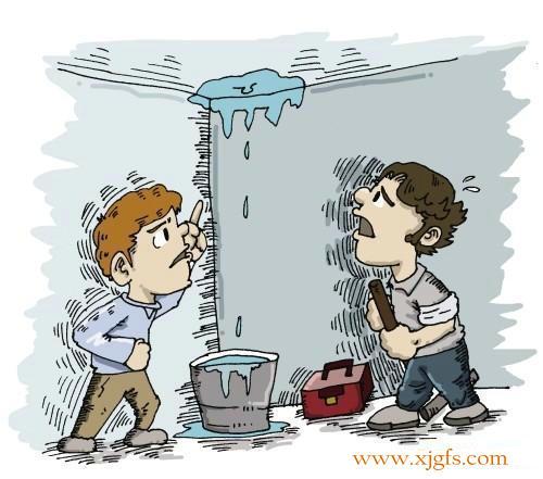 厨卫浴渗漏水不敲砖修复专用防水剂