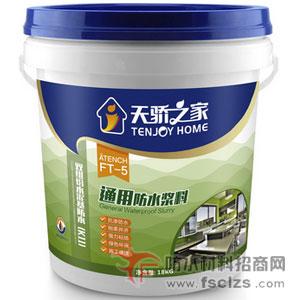 天骄之家招商加盟好项目|FT-5通用防水浆料