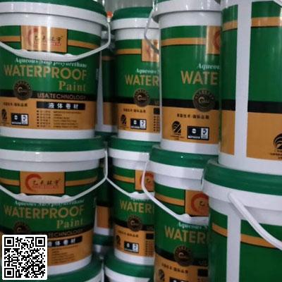 新型屋面液体卷材SBS水性聚氨酯防水涂料