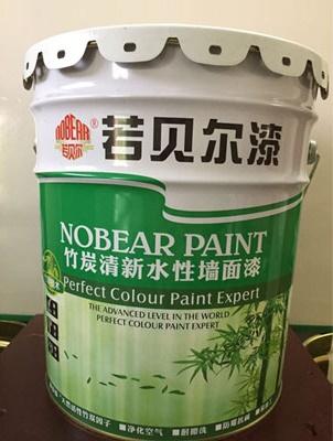 竹炭清新水性墙面漆