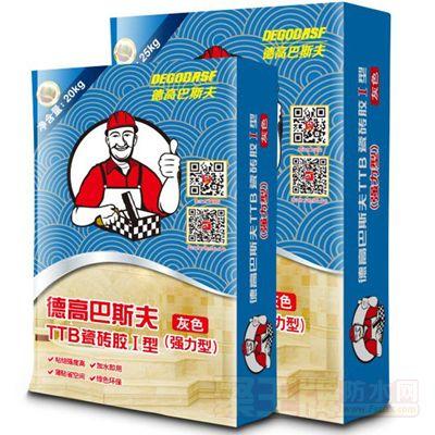 点击查看TTB瓷砖胶I型(强力型)灰色20KG/袋25KG/袋详细说明