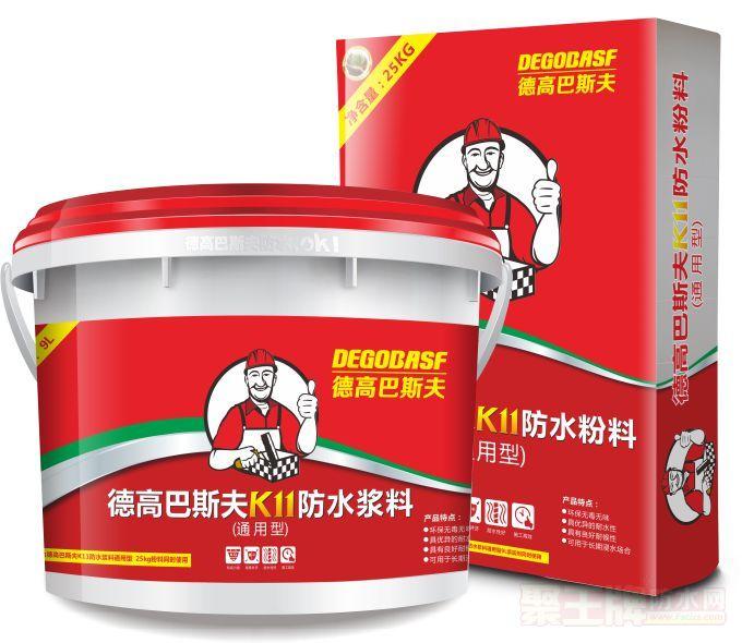 K11防水浆料(通用型) 灰色 34公斤/套装 产品图片
