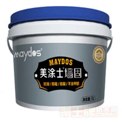 无甲醛墙固防水涂料 产品图片