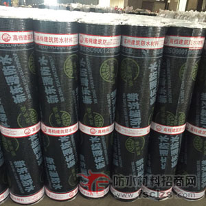 SBS亮膜防水卷材产品包装图片