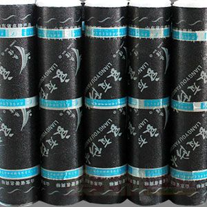 玻纤毡与玻纤网格布增强防水卷材