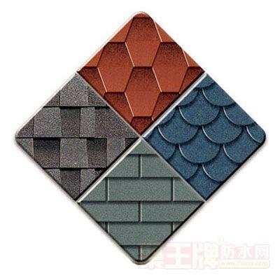 彩色沥青瓦产品包装图片