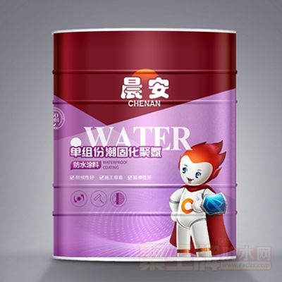 单组份潮固化聚氨酯防水涂料 产品图片