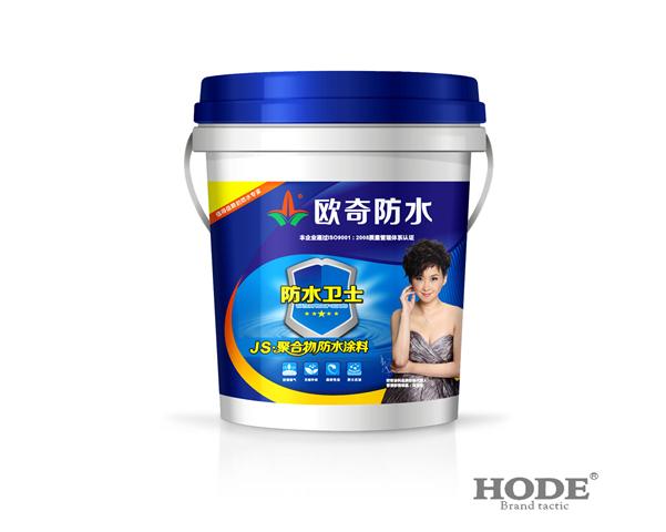 js聚合物复合防水涂料(柔韧性)