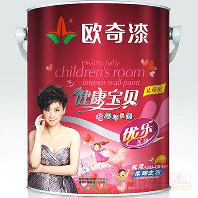 点击查看健康宝贝儿童房专用墙面漆详细说明