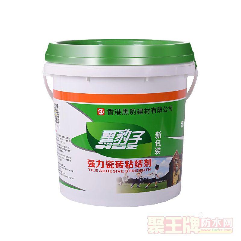 香港黑豹强力瓷砖粘结剂背覆胶背涂胶粘合剂