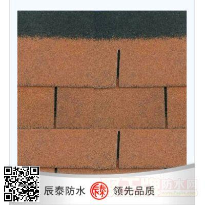 彩色玻纤胎沥青瓦 产品图片