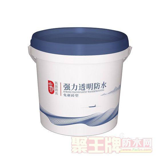 苏哲防水强力型外墙透明防水涂料