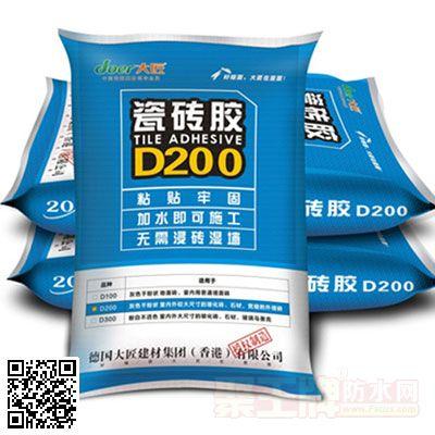 大匠瓷砖胶D200 产品图片