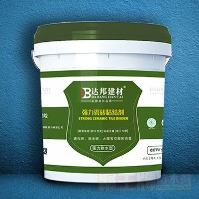 强力瓷砖粘结剂(强力耐水型)详细说明