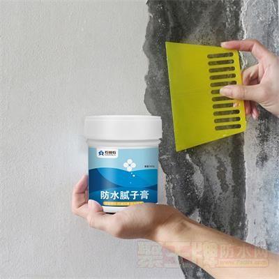 墙面补墙膏防水防霉防潮墙面修补白色内墙涂料耐水腻子粉神器家用