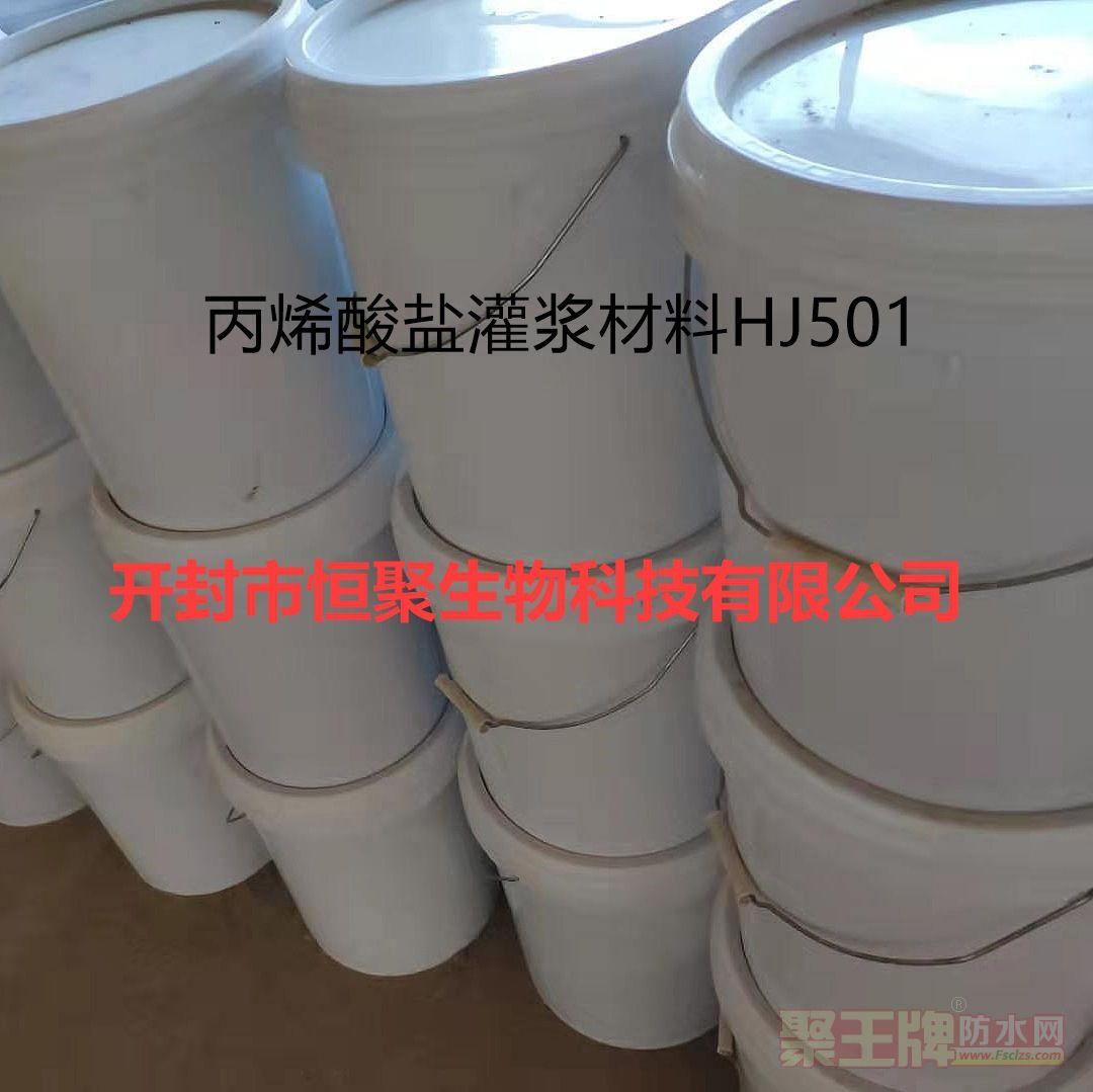 恒聚丙烯酸盐灌浆材料HJ501 厂家直销