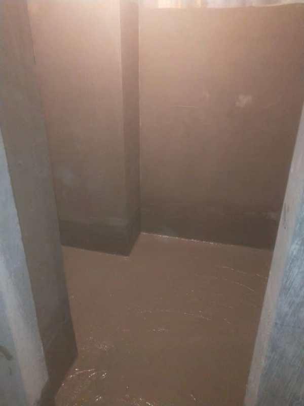 河南高弹柔韧防水涂料蓝色经典卫生间防水