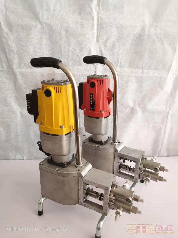 十代高压双液水固化丙烯酸盐注浆机
