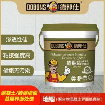 墙固界面剂混凝土水泥加固剂 无甲醛环保型墙固腻子粉胶防水防霉防潮 防止起灰掉粉 白色8kg