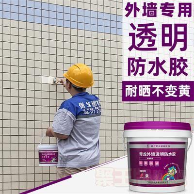 外墙透明补漏室外用防水防晒胶涂料阳台防漏胶户外墙体面漏水