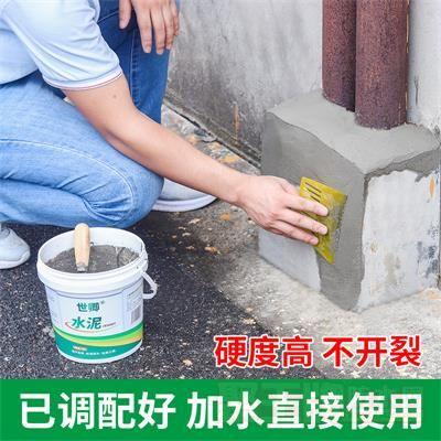 堵漏王快干水泥砂浆胶防水补漏速干家用填缝胶白水泥模具DIY神器