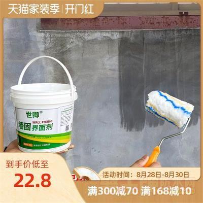 防起砂封闭剂返潮防潮墙面加固地固混泥土界面剂防水涂料拉毛墙锢