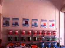 爱迪斯防水店内产品展示台