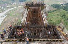 赤石大桥桥墩灌注防水涂料