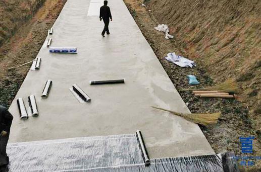 祝贺山东日照某综合管沟项目选用青龙防水卷材