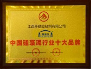 中国硅藻泥十大品牌证书