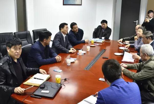 平舆县委书记张怀德一行到访中国建筑防水协会
