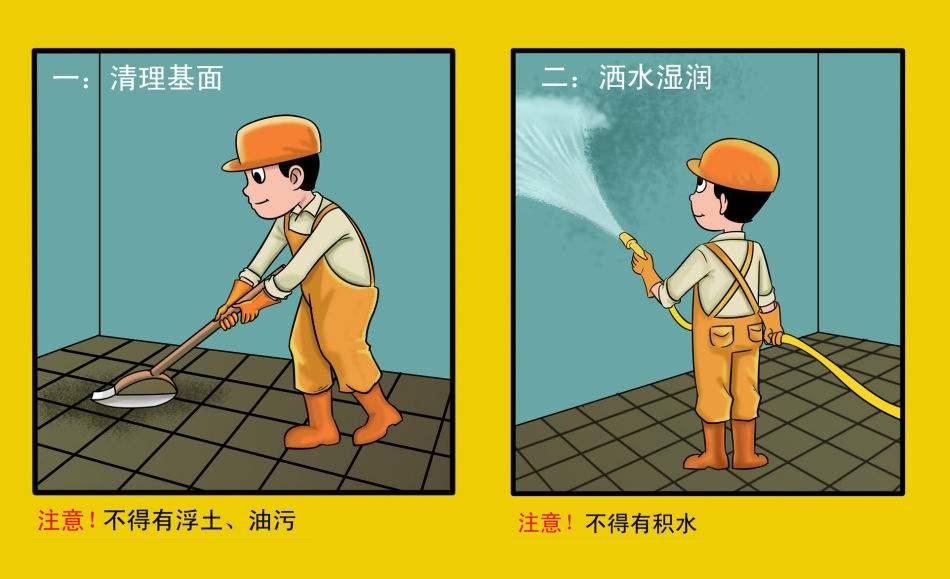 屋面、地下室专用防水涂料有哪些特点?