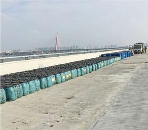 爱迪斯防水品牌店面形象南昌市港口大道工程