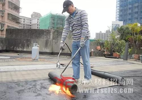 SBS改性沥青防水卷材的施工方法