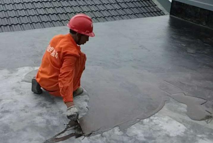艾思尼衢州总代理使用一刷宝(液体卷材)屋面施工效果